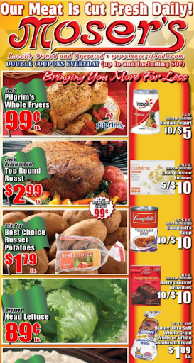 Moser's Foods Weekly Ad