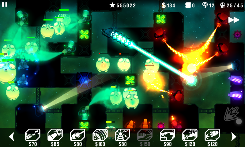 Radiant Defense screenshot #1