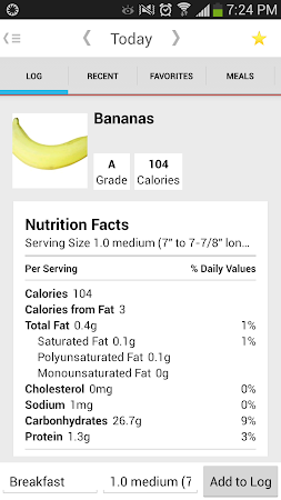 Calorie Counter 4.2.5 screenshot 324488