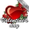Valentines day 2 GO SMS theme icon