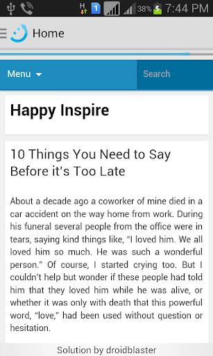 Happy Inspire