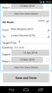 Ryan Flight Fare Watch screenshot 5