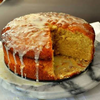 Glazed Orange Pound Cake.
