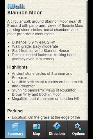 iWalk Stannon Moor