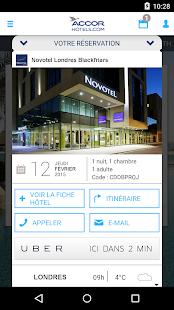 Accorhotels.com réservation - screenshot thumbnail