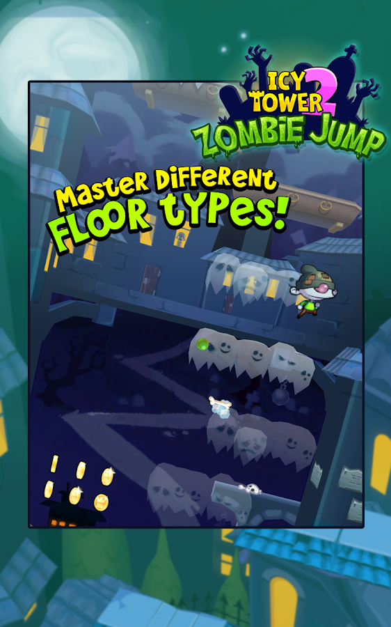 Icy Tower 2 Zombie Jump- screenshot