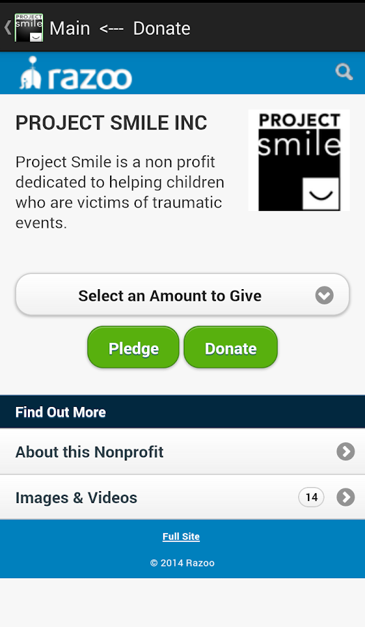 ProjectSmile- screenshot