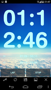 Simple Stopwatch Pro screenshot 3