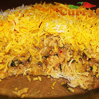 Chicken Biryani With Vegetable Curry Recipes.