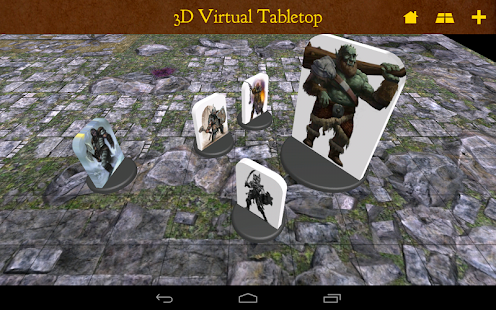 3D Virtual Tabletop - screenshot thumbnail