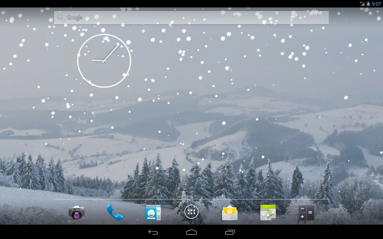winter and snow live wallpaper android apps on google play