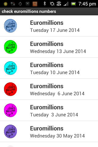 Euromillions check results