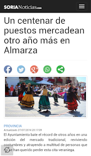 Soria Noticias-Diario Digital- screenshot thumbnail