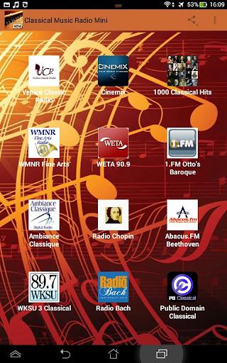 Classical Music Radio Mini