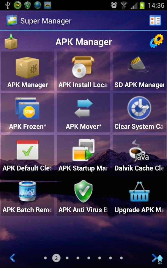 Super Manager 3.0 - screenshot