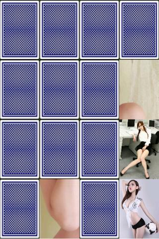 Sexy Asian girls card game - screenshot