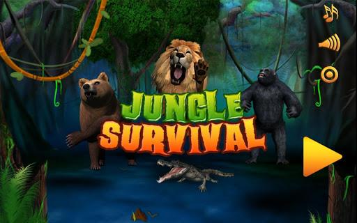 丛林生存 - 游戏