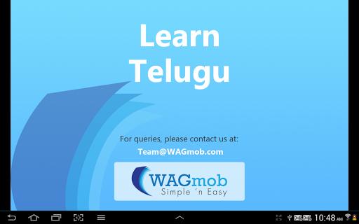 Learn Telugu