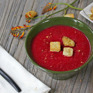 Beet & Carrot Soup.