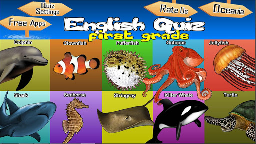 English Quest For First Grade