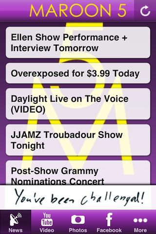 Maroon 5 Unofficial App