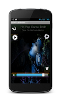 Screenshot of Hip Hop Dance Radio