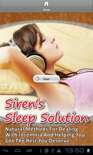 Siren's Sleep Solution