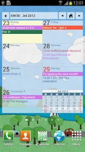 aCalendar - Android Calendar - screenshot thumbnail