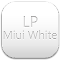 LauncherPro Miui White Pack logo