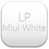 LauncherPro Miui White Pack