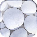 White Pebble Live Wallpaper icon