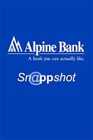 Screenshot of Alpine Bank Sn@ppshot Deposit