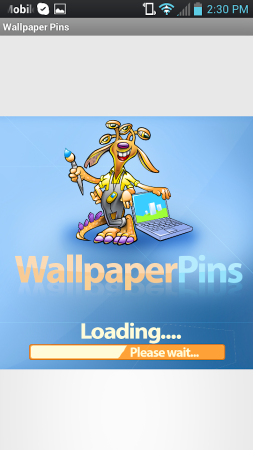 WallPaperPins - screenshot