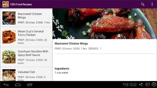 Food recipes android apps on google play food recipes screenshot thumbnail food recipes screenshot thumbnail forumfinder Gallery