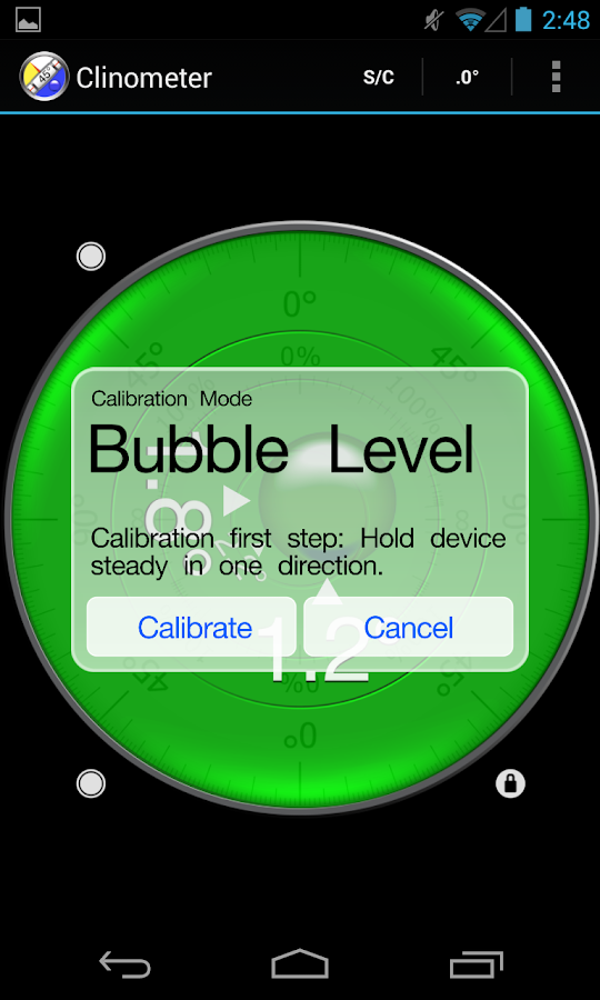 clinometer   bubble level