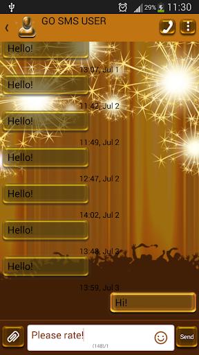 GO短信加强版烟花