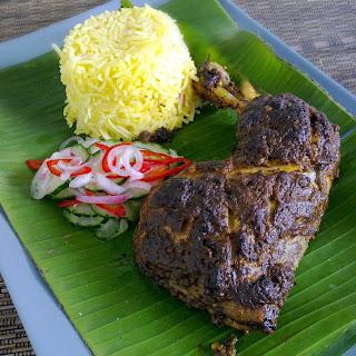 Ayam Percik (Kelantan-Style Grilled Chicken) Recipe