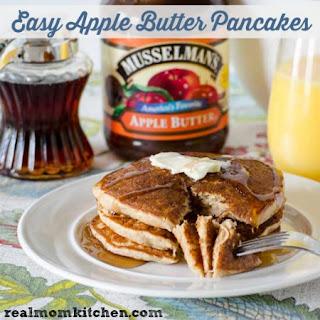 Easy Apple Butter Pancakes