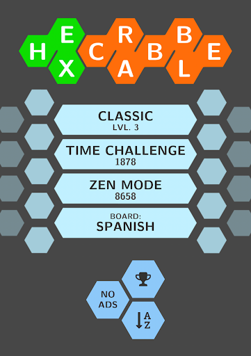 Hexcrabble: Word Building Game
