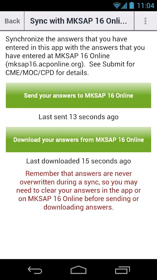 MKSAP 16 Pocket Edition - screenshot