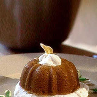 Ginger Pumpkin Pudding Cakes