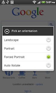 Orientation Control - screenshot thumbnail