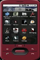 Screenshot of aHome Gothic Theme