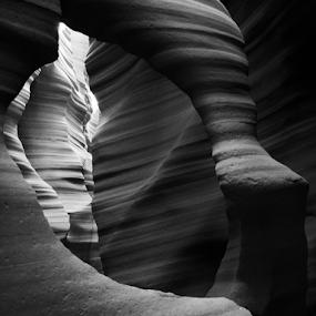 Hollow Sands by Blaine Cox - Black & White Landscapes