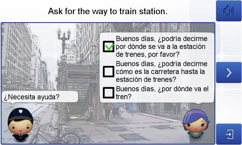 Learn Spanish with Hugo lite - screenshot