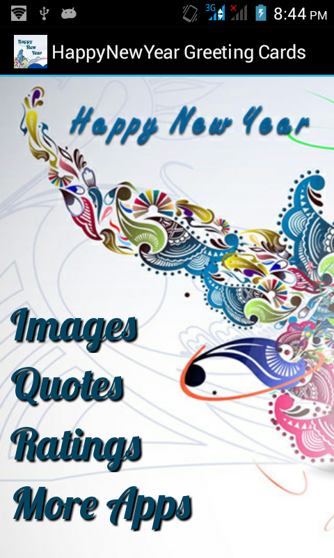 Happy New Year Greeting Cards - Android Apps on Google Play