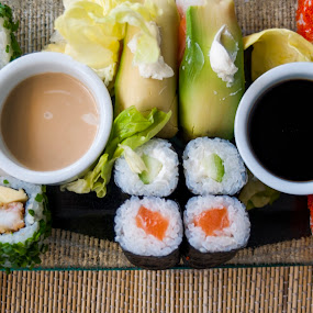 Sushi by Tariq Ouhti - Food & Drink Plated Food ( look, tasty, sushi, morocco,  )