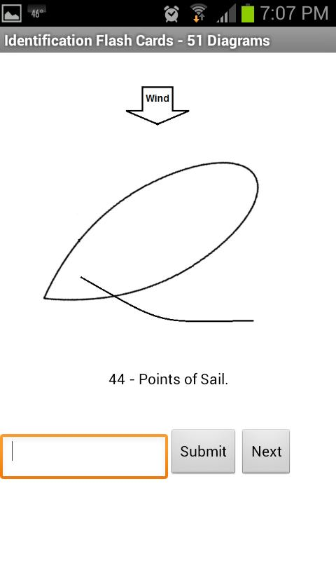 Sailing Flashcards - screenshot