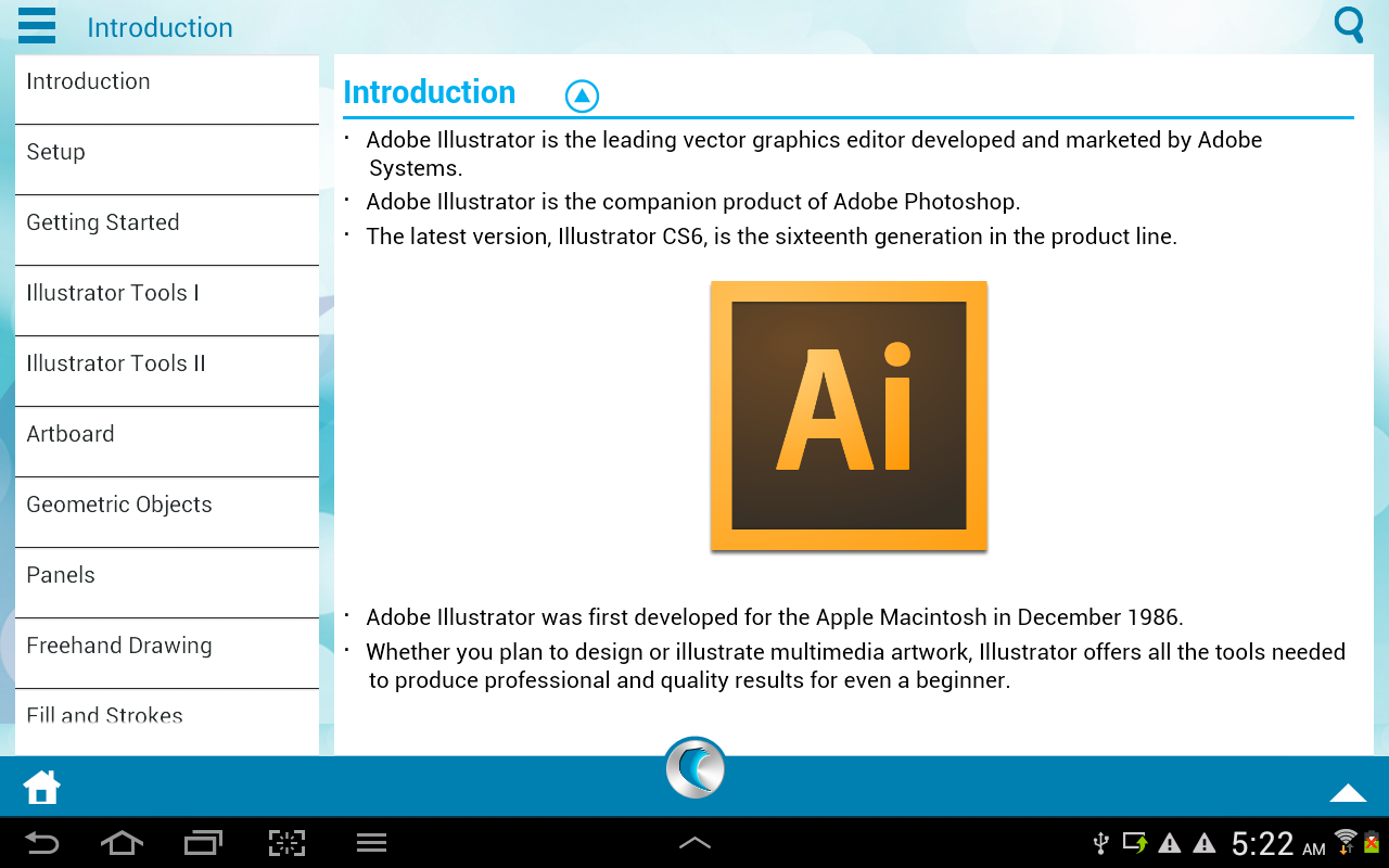 Learn Illustrator 101- screenshot