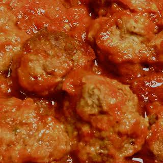 Aunt Julie's Meatballs.
